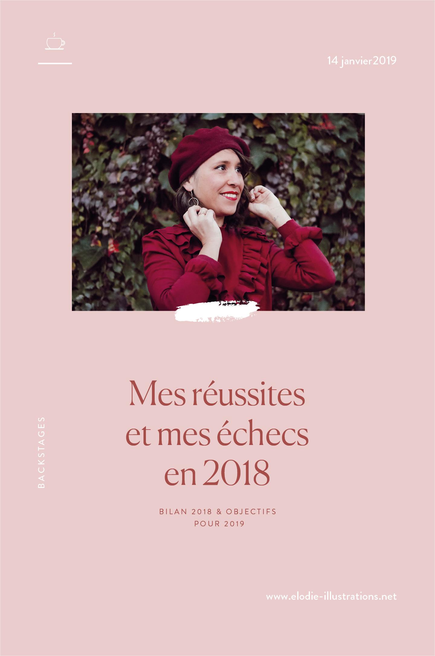 Bilan 2018 : Mes réussites et mes échecs et mes objectifs pour 2019 - Cliquez pour découvrir l'article