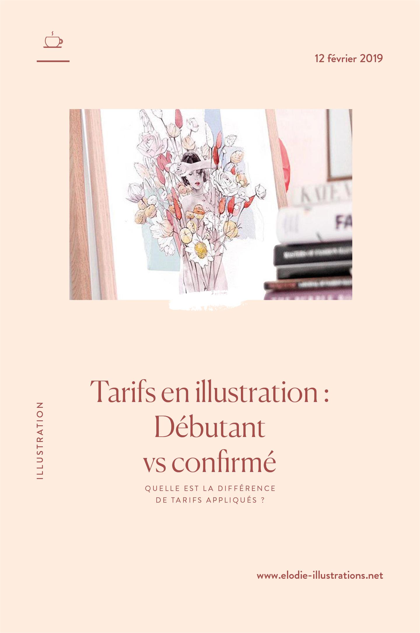 Tarif illustrateur : Quelle différence de tarifs appliqués entre illustrateurs débutants et confirmés ? | Cliquez pour découvrir l'article | Cliquez pour découvrir l'article