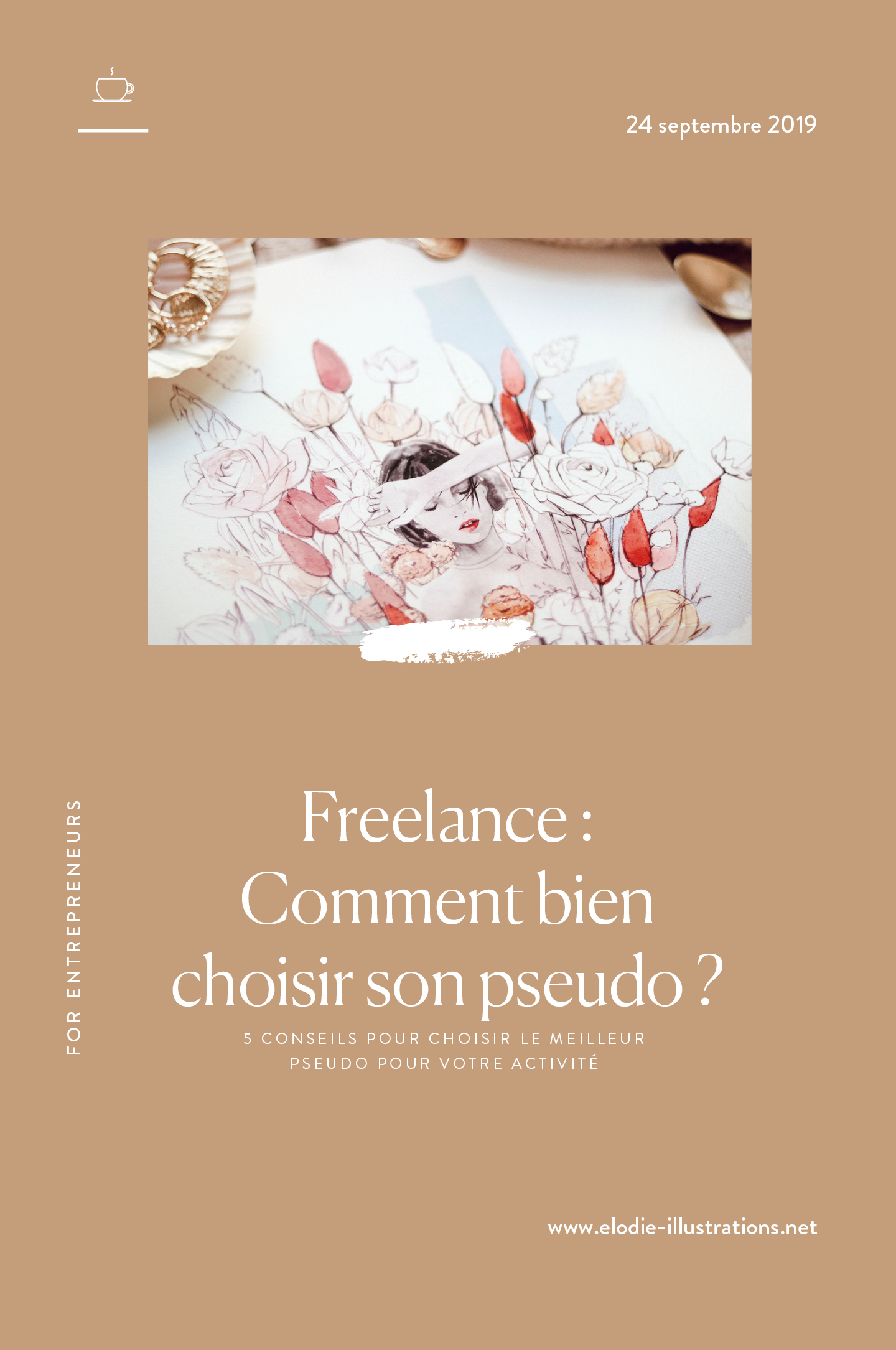 Comment Bien Choisir Son Pseudo Elodie Fashion Lifestyle Illustrator